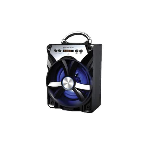 """Rechargeable Bluetooth Speaker with MP3, LED and MIC input - 6.5"""""""