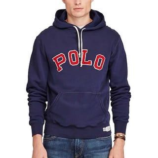 Polo Ralph Lauren Fleece Hoodie Sweatshirt Cruise Navy Blue X-Large|https://ak1.ostkcdn.com/images/products/is/images/direct/b2991381831aed48e9c3d5c14c5a49222509134f/Polo-Ralph-Lauren-Fleece-Hoodie-Sweatshirt-Cruise-Navy-Blue-X-Large.jpg?impolicy=medium