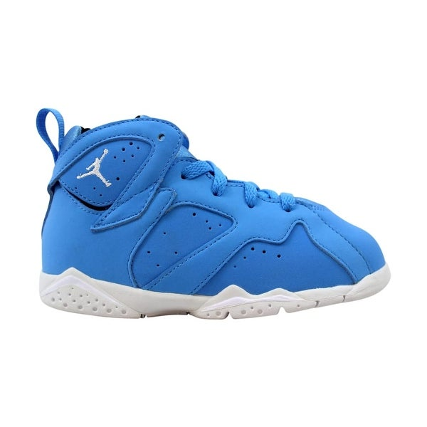 outlet store 85e43 53679 Nike Air Jordan VII 7 Retro TD University Blue White-Black Pantone 304772-