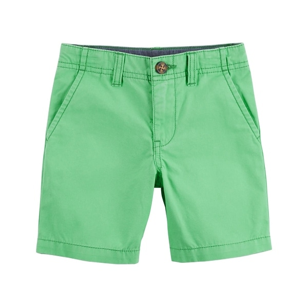 b4f695ba80b3 Shop Carter's Little Boys' Chino Shorts, Green, 3-Toddler - 3T - Free  Shipping On Orders Over $45 - Overstock - 27286752