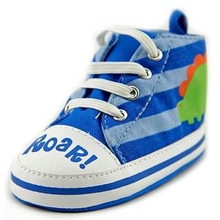 Gerber Roar Dinosaur High Top Round Toe Canvas Sneakers