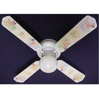 Disney's Bambi Print Blades 42in Ceiling Fan Light Kit - Multi