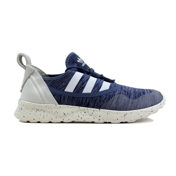 7e9617eeb Shop Adidas ZX Flux ADV Virtue W Tech Ink Core White Women s S79857 ...