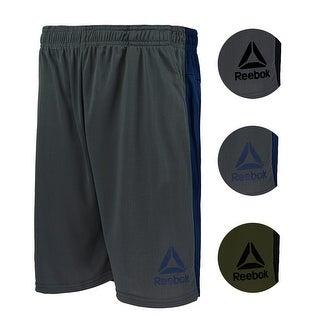 Reebok Men's Contrast Shorts - Grey/Black