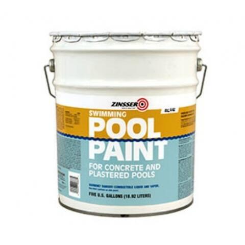 Zinsser 260542 Swimming Pool Paint, 5 Gallon