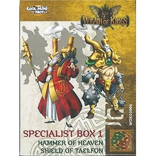Wrath of Kings: House Shael Han: Rank 1 Specialist Box
