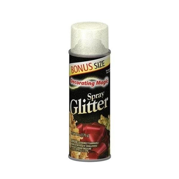 Decorating Magic Opal Glitter Christmas Spray - 6 Ounces