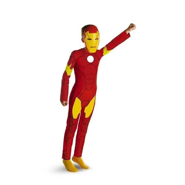 Marvel Iron Man Animated Classic Child Costume Child Size L (10-12)