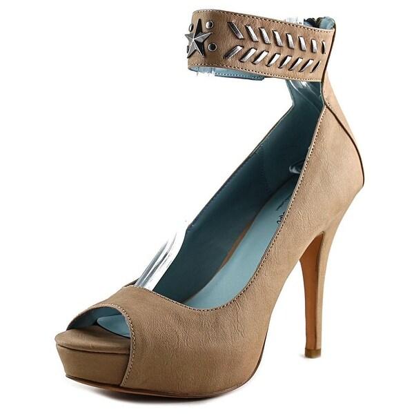 Miranda By Miranda Lambert Earlen Women Open Toe Synthetic Platform Heel
