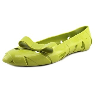 Kartell Bow Wow   Round Toe Synthetic  Ballet Flats