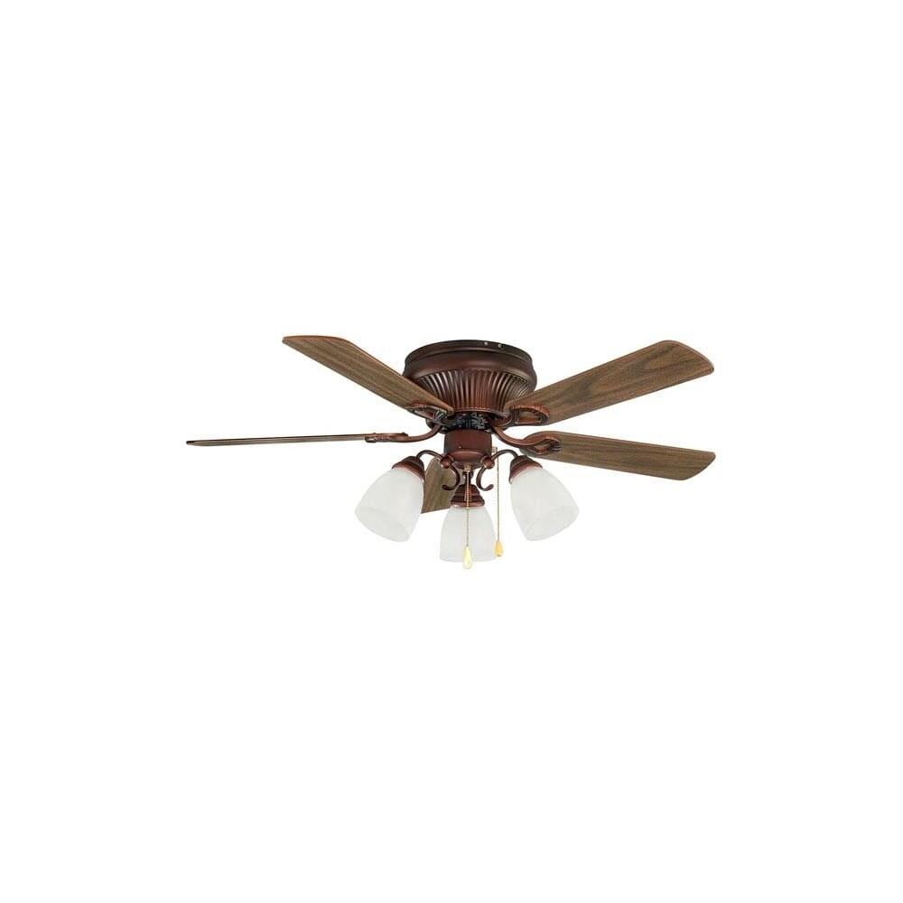Light 5 Blade Hugger Ceiling Fan
