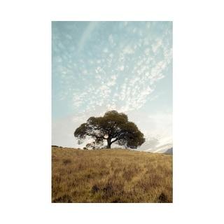 Easy Art Prints Alan Blaustein's 'Oak Tree #12' Premium Canvas Art