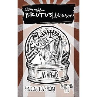 """Brutus Monroe Clear Stamps 3""""X4""""-City Sidewalks - Las Vegas"""