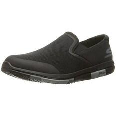 Skechers Performance Men's Go Flex Walking Shoe, Black/Gray, 13 M US