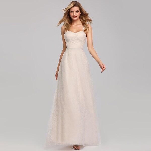 Shop Ever-Pretty Womens Floral Lace Elegant Long Bridal
