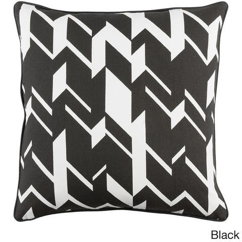 Decorative 18-inch Appia Throw Pillow Shell