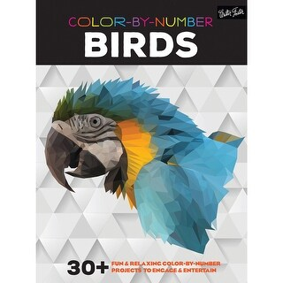 Walter Foster Creative Books-Color By Number - Birds
