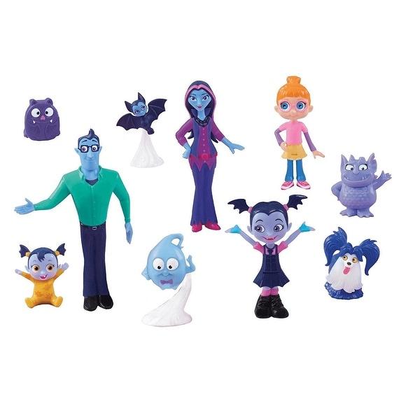 87349ce10f7e Shop Disney Junior Vampirina Fangtastic Friends 10-Piece Figure Set - multi  - Free Shipping Today - Overstock - 19315897