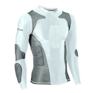 Century Padded Compression Shirt - Long Sleeve - Youth