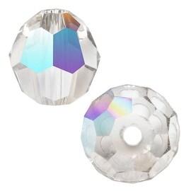 Swarovski Crystal, 5000 Round Beads 5mm, 10 Pieces, Crystal AB