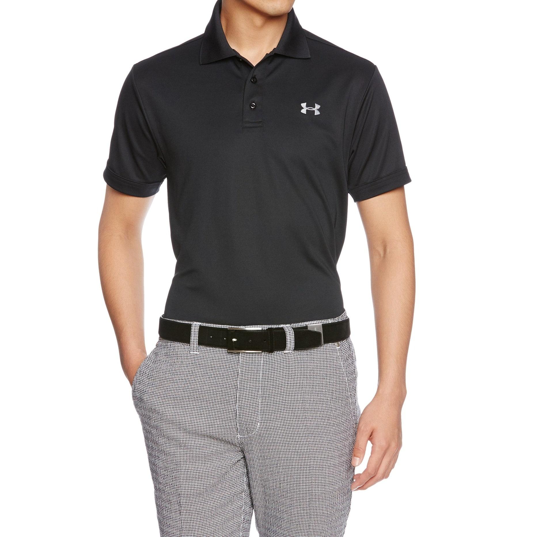 Antecedente Enriquecer pestaña  Under Armour Mens Shirt Black Size Medium M Loose Fit Polo Rugby -  Overstock - 30572591
