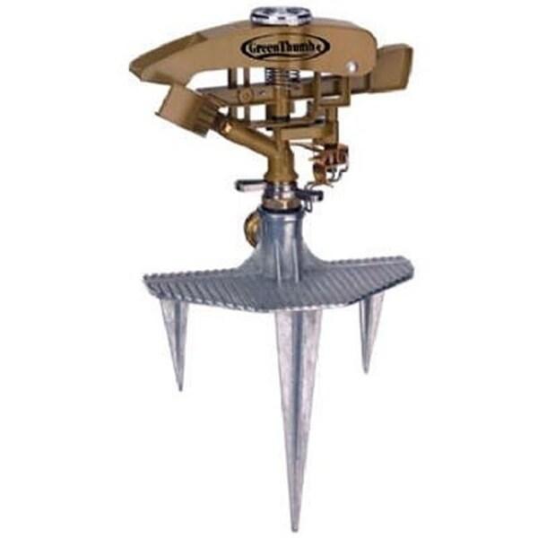 Fiskars 581852 Green Thumb Metal Impulse Sprinkler Extra Large