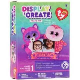 Beanie Boos Display & Create Frame Kit-Roxi & Pinky