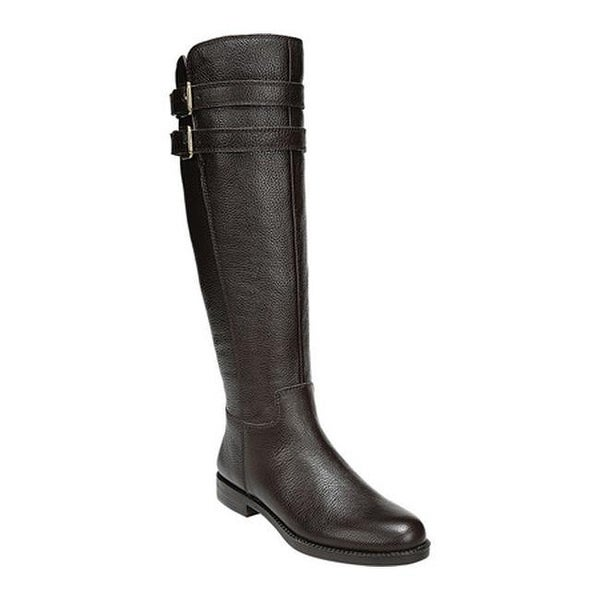987f22a02d9 Franco Sarto Women  x27 s Christoff Wide Calf Riding Boot Hickory New  Cancun Leather