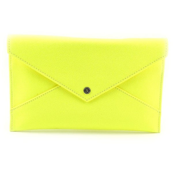 Danielle Nicole Tina Clutch Women   PVC Yellow Clutch