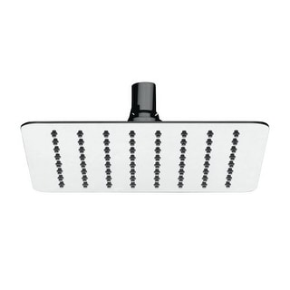 Mirabelle MIRRS820S 2.0 GPM Single Function Square Rain Shower Head