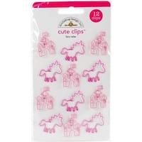 Doodlebug FAIR5593 Fairy Tales Cute Clips - 12 per Pack
