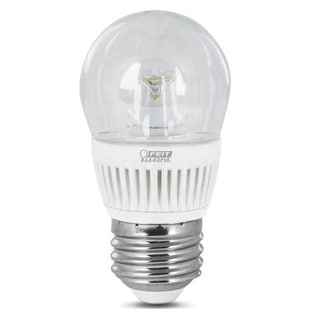 Feit Electric BPA15/CL/DM/500/L LED Light Bulb, 7 Watts, Dimmable