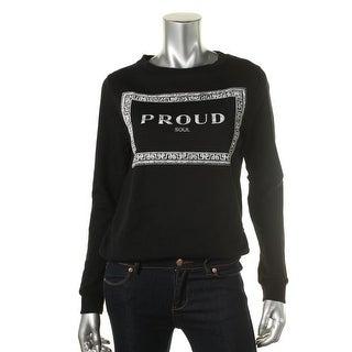 Zara Trafaluc Womens Graphic Long Sleeve Pullover Sweater - S
