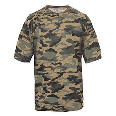 Adult Camo Short-Sleeve T-Shirt SAND CAMOUFLAGE M