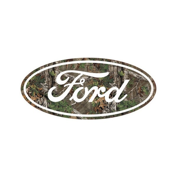 Open road brands 90153963s open road brands die cut emb tin sign ford camo logo