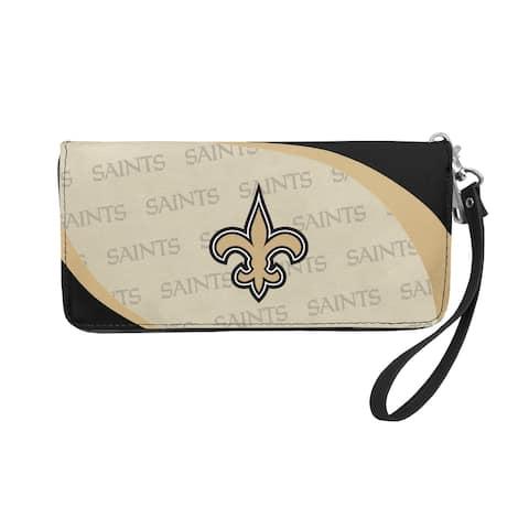 New Orleans Saints Wallet Curve Organizer Style