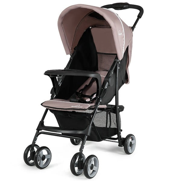 Costway Foldable Lightweight Baby Stroller Kids Travel Pushchair. Opens flyout.