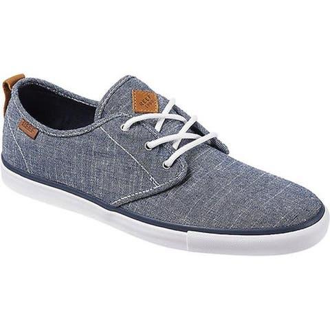 Reef Men's Landis 2 TX Sneaker Blue Chambray