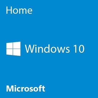 Microsoft Windows 10 Home 64 Bit System Builder Oem Pc Disc