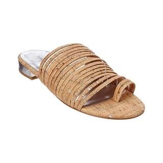 Donald J Pliner Womens Frea Open Toe Casual Slide Sandals