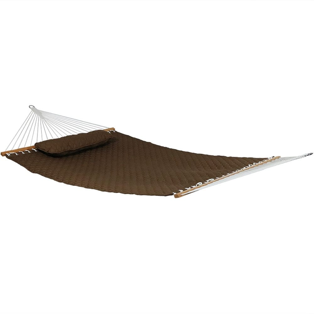 Sunnydaze Quilted Double Fabric 2-Person Hammock - Hammock Only - Thumbnail 7