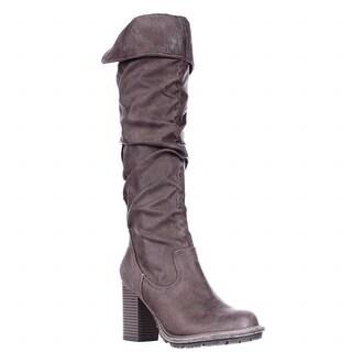 Seven Dials Senorita Tall Boots - Taupe