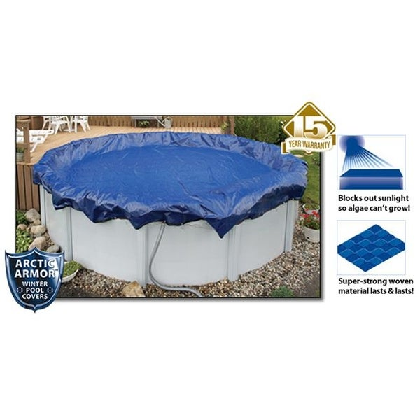 Shop 15 Year 15\' Round Above Ground Swimming Pool Winter Covers ...