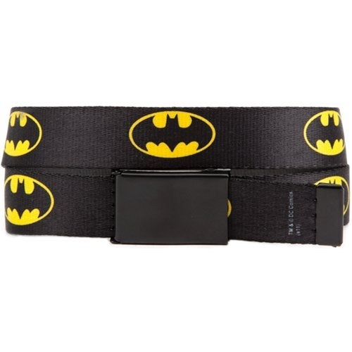 Batman Logo Webbed Belt