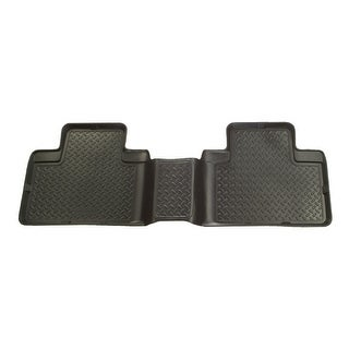 Husky Classic 2008-2014 Lincoln Navigator L 3rd Row Black Rear Floor Mats/Liners