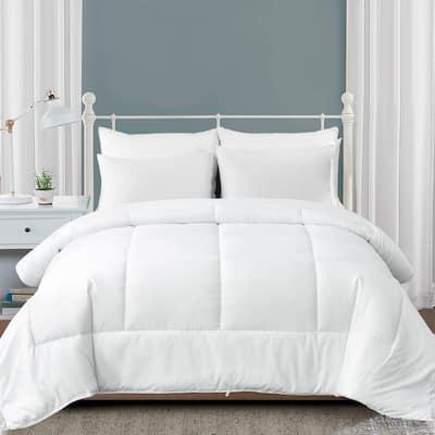 Lightweight White Down Alternative Comforter With Box