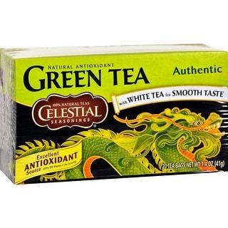 Celestial Seasonings - Authentic Green Tea ( 6 - 20 BAG)