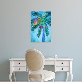 Easy Art Prints Melinda Bradshaw's 'Royal Palm Caribbean I' Premium Canvas Art