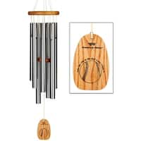 Take Me Out to the Ball Game Wind Chime - Baseball Themed - 27 in.