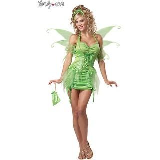 Tinkerbell Fairy Costume, Tinkerbell Costume - Green
